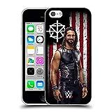 Head Case Designs Officiel WWE Seth Rollins Drapeau D'Américain Superstars Étui Coque en Gel Molle pour iPhone 5c