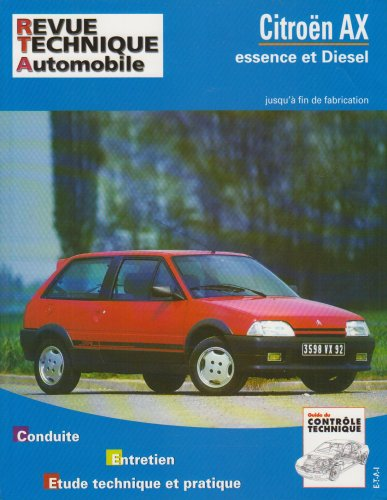 Revue Technique 100.1 Citroën AX, tous modèles