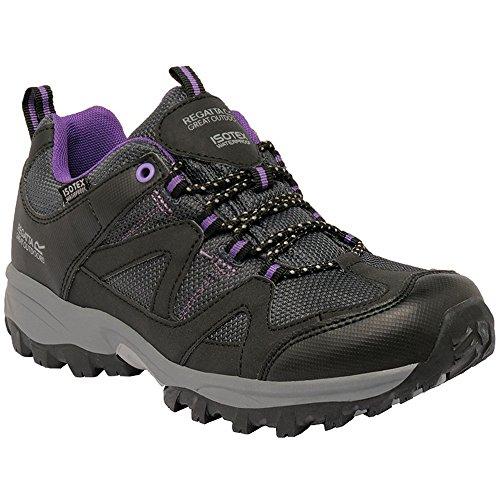 Regatta Great Outdoors - Gatlin - Scarpe da camminata - Donna Black / Alpine Purple