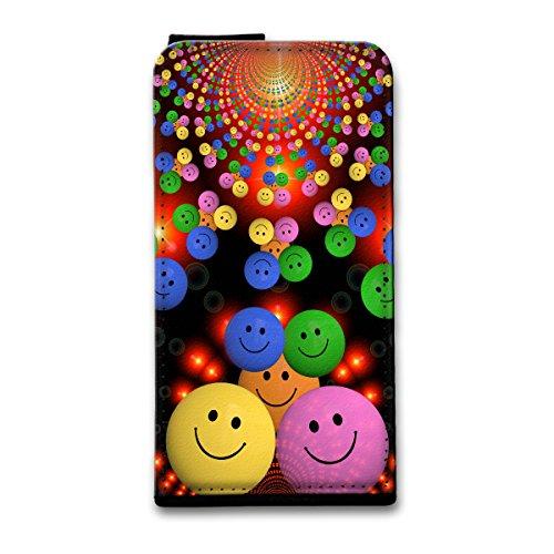 Flip Style Vertikal Handy Tasche Case Schutz Hülle Schale Motiv Foto Etui für Apple iPhone 6 / 6S - Flip V21 Design4 Design 12