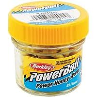 Berkley Powerbait - Gusanos de miel Amarillo  55 grams Paquete de 55 unidades