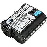 Accu pour Nikon D500 DSLR, 1900mAh, remplace: Nikon EN-EL15;