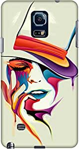 Upper Case Back Cover For Samsung Galaxy Note 4