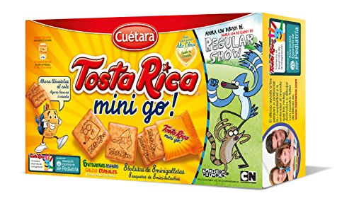 Tosta Rica - Galletas Mini Tosta Rica go 240 g - [pack de 5]