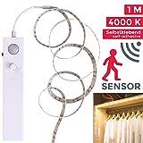 LED Band mit Bewegungsmelder LED Stripes, Lichterkette, Band, Streifen,Silikonbeschichtung, LED Leiste, LED Lichtleiste