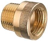 Cornat Hahnverlängerung mit Innen und Außengewinde, A 3/4Zoll IG, B 25 mm, 1 Stück, rotguss, T640530
