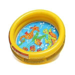 Bébé Kid gonflable flotteur Piscine Sea Anneau Monde Fun bain