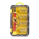 Reparatur Werkzeug Kit Magnetischer Schraubendreher Set Elektronik Werkzeug Set für Telefon,Brillen,PC,Uhr,Tablet und Alle Elektronischen Geräte