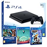Sony tabz4 Slim 500Gb Slim 500gb - Pack Familiar 5 Juegos - PEGI 7/16