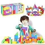 VANKER Ladrillos de los bloques huecos de la espuma de 50pcs Soft EVA fijaron los juguetes educativos del juego de los cabritos del niño