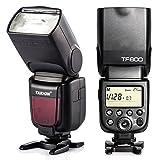 TARION TF600 Blitzgerät mit integriertem Fernauslöser System für Canon Nikon Pentax Olympus Fujifilm (inkl. deutsche Anleitung)