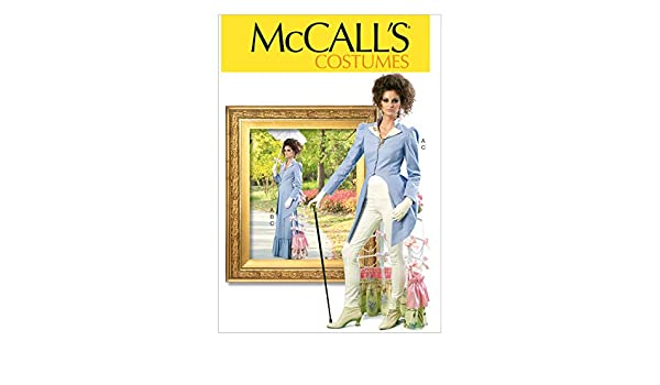 Mccall/'s Patterns 7140 E5 Sizes 14//16//18//20//22 Misses Costumes Sewing Pattern