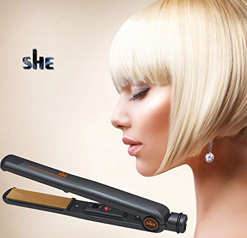 She Black 3.1b Hair Straighteners Made by Unil Electronics the no1 name in hair Irons