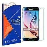PLT24® 9H Hartglas / Panzerglas für Samsung Galaxy S6 / Displayschutzglas / Tempered Glass / Panzer Glas Display Schutz Folie / Schutzglas / Echte Glas / Verbundenglas / Glasfolie (bewusst kleiner als das Display, da es gewölbt ist) - 5