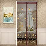 Die besten Screen Doors - Magnetic Screen Door halten Insekten aus Moskito-Tür-Bildschirm, oben-unten-Dichtung Bewertungen