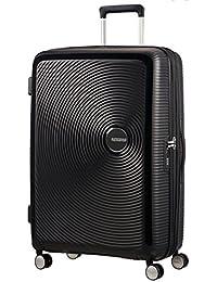 AMERICAN TOURISTER Soundbox - Spinner 67/24 Expandable Equipaje de mano, 67 cm, 71.5 liters, Negro (Bass Black)