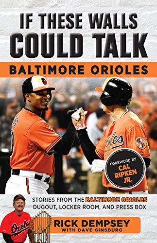 If These Walls Could Talk: Baltimore Orioles: Stories from the Baltimore Orioles Sideline, Locker Room, and Press Box (English Edition) por Rick Dempsey