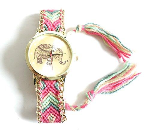 Réf2S22 BR.532-Reloj de pulsera, diseño de bandera de Brasil, color