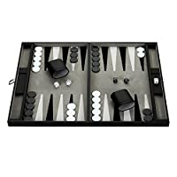 Hathaway Premium Backgammon Set Black