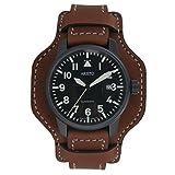 Aristo Herren Uhr Armbanduhr Automatic Fliegeruhr 0H11 Leder