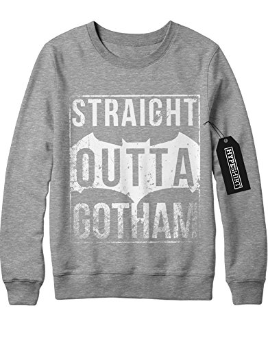 Scarecrow Batman Kostüm Begins Aus (Sweatshirt Batman
