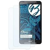 Bruni Schutzfolie für Acer Iconia Talk S A1-724 Folie, glasklare Bildschirmschutzfolie (2X)