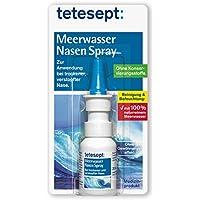 Preisvergleich für tetesept Meerwasser Nasen Spray – Nasenspray bei Erkältung - Reinigung der verstopften Nase & natürliche Befeuchtung...