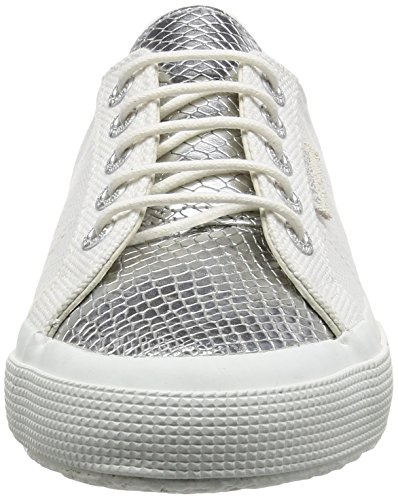 Superga 2750 Cotleasnakeu, Sneakers basses mixte adulte White (white Silver)