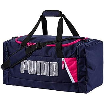 9f298a4ce Puma Fundamentals Sports M II Bag, Unisex Adulto, Peacoat/Beetroot Purple,  OSFA