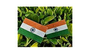 Plantable Seed Paper Indian National Flag | Pocket Badge | Size:3 * 2 (500)