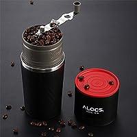 Alocs Máquina de molienda de café de viaje de camping Máquina de café molinillo de café de cerveza taza