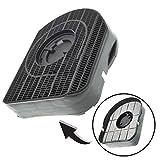 Spares2go type 200Charbon filtre à charbon pour Bosch Dwa061450hotte Extracteur de vent