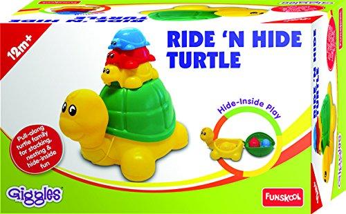 Funskool Ride 'N Hide Turtle