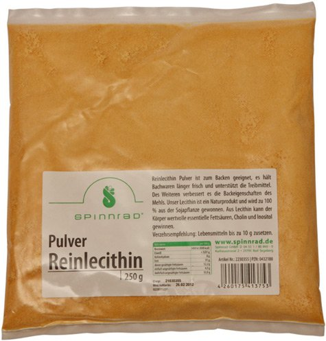 Spinnrad Reinlecithin Pulver 250g