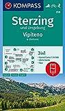 KOMPASS Wanderkarte Sterzing und Umgebung, Vipteno e dintorni: 3in1 Wanderkarte 1:25000 mit Aktiv Guide inklusive Karte zur offline Verwendung in der ... Skitouren. (KOMPASS-Wanderkarten, Band 58)