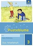 Pusteblume. Das Sachbuch - Ausgabe 2016 für Baden-Württemberg: Arbeitsheft 3