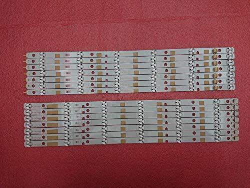 DIPU WULIAN New Kit 14 PCS LED backlight strip for SONY TV 42L7453D SVT420A81 REV03 R L type 130613 LC420DUK SG K2