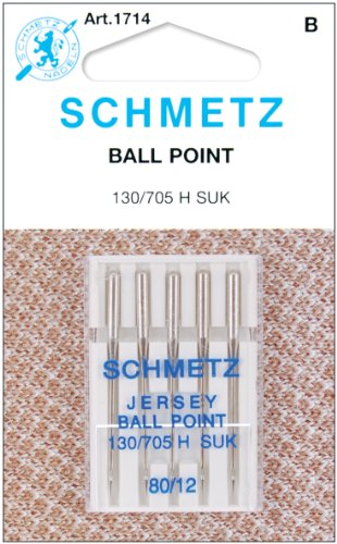 Spinrite Schmetz 1714C Agujas máquina Punto Bola