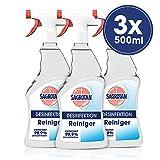 Sagrotan Desinfektion Reiniger, 3er Pack (3 x 500 ml)