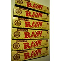 Raw Organic Hemp Rolling Papers 10 booklets by Raw