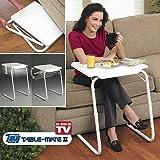 Smart Matto Adjustable Multipurpose Foldable Table (White)