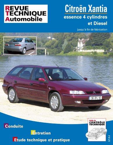 revue technique 108.1 Citroën Xantia Essence et Diesel