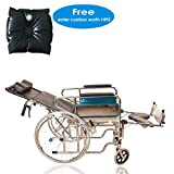 Khl Reclining Foldable Commode Wheelchair