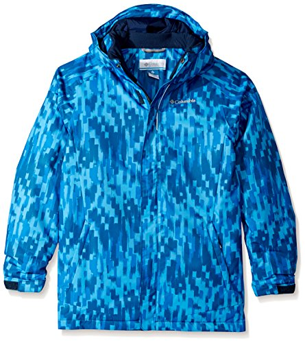Columbia Jungen Twist Tip Jacke, Peninsula Brushed Strokes, L