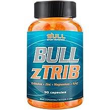 Bull Sport Nutrition Tribulus + Zma Testosterona - 90 Cápsulas