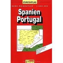 RV Euro-Reiseatlas 1:300 000 Spanien/Portugal (Spiralbindung)