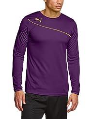 PUMA Torwarttrikot Momentta GK Shirt - Camiseta de portero de fútbol para hombre, color morado, talla XL