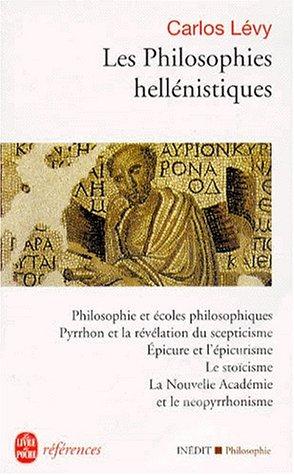 Les philosophies hellénistiques
