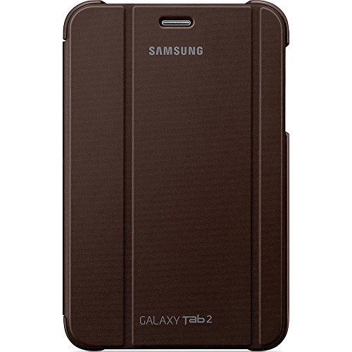 Samsung Original Diarytasche (Flipcover) im Buchdesign EFC-1G5SAECSTD (kompatibel mit Galaxy Tab 2 7.0) in amber brown - Tablet 2012 Samsung