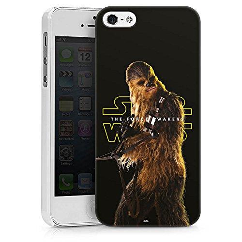 Apple iPhone 7 Silikon Hülle Case Schutzhülle Star Wars Merchandise Fanartikel Chewbacca Hard Case weiß